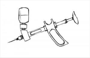 Pistolet à injection